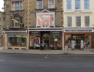 Shepherd & Woodward - Image: Shepherd and Woodward shops, High Street Oxford geograph 2694954 by David Hawgood