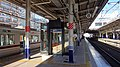 Shiki Station waiting room 20160109.JPG