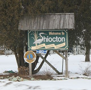 Shiocton, Wisconsin Village in Wisconsin, United States