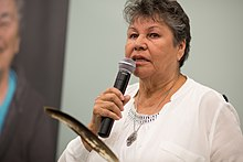 Shirley Fletcher Horn, Shingwauk Gathering at AlgomaU in 2015.jpg