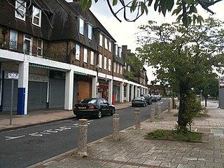 St Helier, London Human settlement in England