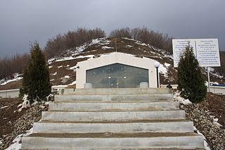 Thracian tomb Shushmanets tomb in Bulgaria