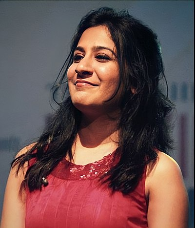 Picture of a band or musician: Shweta Mohan