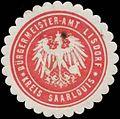 Siegelmarke Bürgermeister-Amt Lisdorf Kreis Saarlouis W0381967.jpg