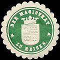 Siegelmarke Der Magistrat zu Reisen W0226992.jpg