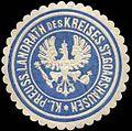 Siegelmarke Königlich Preussischer Landrath des Kreises - St. Goarshausen W0260249.jpg