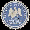 Siegelmarke K.Pr. 8. Feld Artillerie-Brigade W0387139.jpg