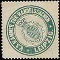 Siegelmarke K.S. Kammer für Handelssachen Leipzig W0390646.jpg