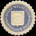 Siegelmarke Stadt Melsungen - Provinz Hessen-Nassau W0310921.jpg