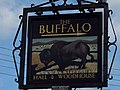Sign for the Buffalo Public House - geograph.org.uk - 348057.jpg