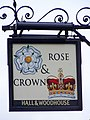 Sign for the Rose and Crown - geograph.org.uk - 1155975.jpg