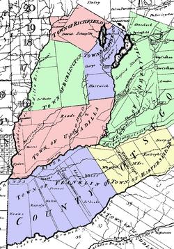 Simeon DeWitt Otsego County NY c.1792