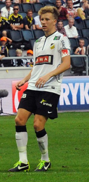 Simon Gustafson - Gustafson with BK Häcken