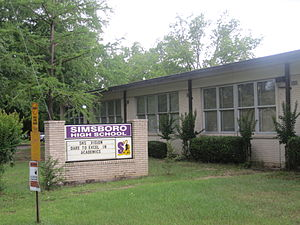 Simsboro, Louisiana - Simsboro High School