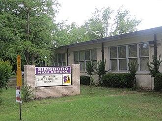 Simsboro, Louisiana - Simsboro High School