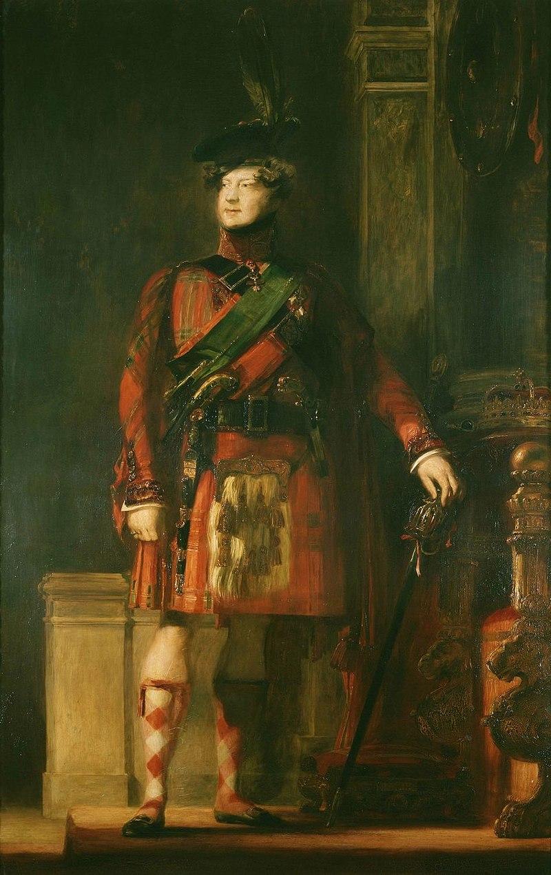Сэр Дэвид Уилки (1785-1841) - Георг IV (1762-1830) - RCIN 401206 - Royal Collection.jpg