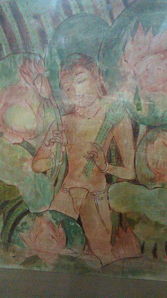 Sithanavasal - Sithanavaasal Paintings Man