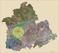 Situación Área Metropolitana de Sevilla en la provincia.PNG