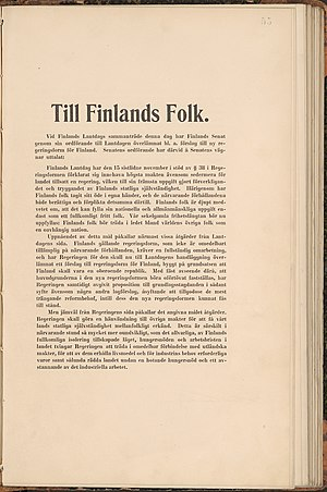 Finnish Declaration of Independence