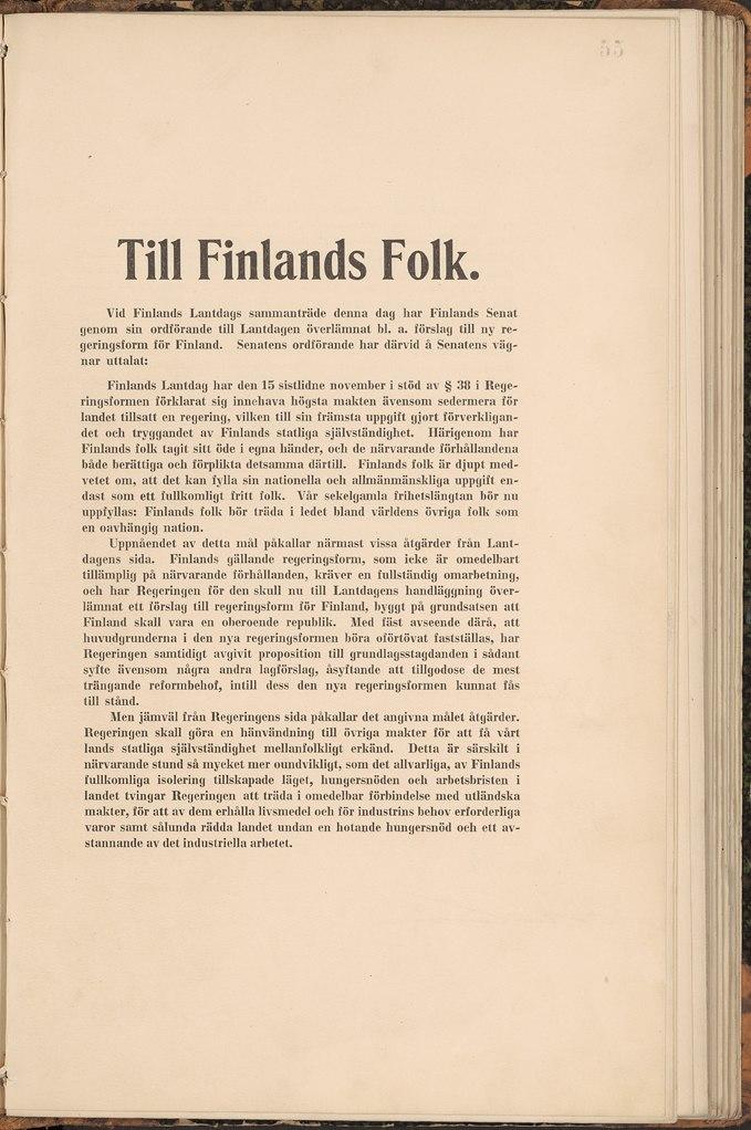 Självständighetsförklaringen 4 12 1917 1