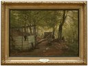 Skittle-alley in Saeby Forest. Spring Morning (Carl Fredrik Aagaard) - Nationalmuseum - 18361.tif