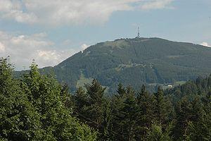 Skrzyczne - The top of Skrzyczne, June 2005