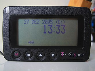 Pager - A Skyper pager that is in use for ham radio