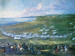Battle of Halmstad - Image: Slaghalm 1676