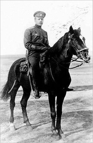 Yakov Slashchov - Slashchov as a colonel of the Russian Imperial army