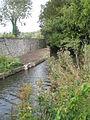 Small stream running alongside Bosham churchyard - geograph.org.uk - 928602.jpg
