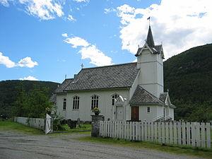 Snillfjord Church - Image: Snillfjordkirke,jpg