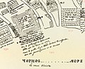 Sokhumi castle - Imereti kingdom map 1738.jpg