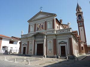 Solaro, Lombardy - Parish church.