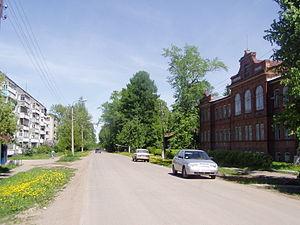 Sovetsk, Kirov Oblast - Solominskaya Street in Sovetsk