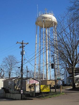 Somerville, Tennessee - Image: Somerville TN 01 2012 007