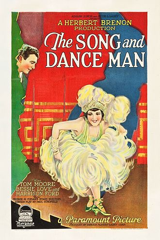 The Song and Dance Man - Film poster