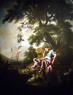 Songe de Jacob, Solimena (2).jpg