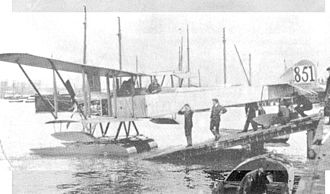 Sopwith Type 860 - Type 860 No.851 with unequal span wings