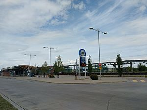 South Campus/Fort Edmonton Park station - Image: South Campus Fort Edmonton Park Transit station