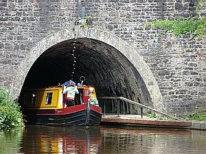 Chirk Tunnel - Southern portal of the tunnel