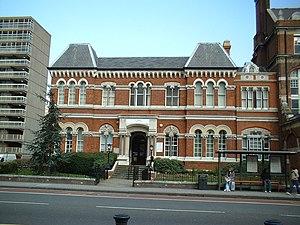 Metropolitan Borough of Southwark - Metropolitan Borough of Southwark Town Hall (previously the Vestry Hall of St Mary, Newington)