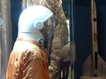 Space suits in Memorial Museum of Cosmonautics, Moscow, Russia, 2016 01.jpg