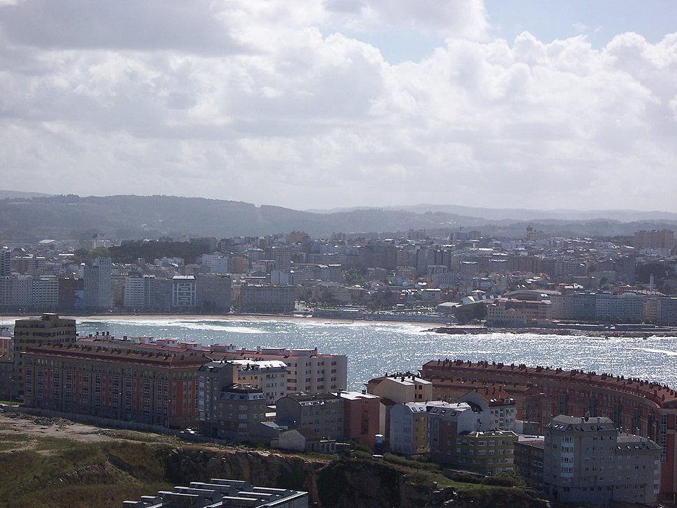 Spain LaCorunaFromTower