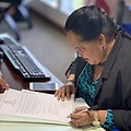 Speaker Tina Muna Barnes signing an Executive Order in her capacity as Acting Lt. Governor of Guam..jpg