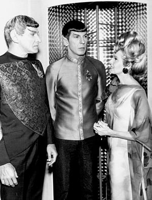 Spock - Spock with his parents, Sarek and Amanda