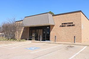 Springtown, Texas - Image: Springtown 3
