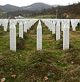 Srebrenica massacre memorial gravestones 2009 3.jpg