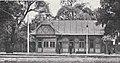 Städtische Straßenbahnen Wien 1903–1913 (page 84 crop) – Wagenabfertigung und Wartehalle beim Lusthaus im Prater.jpg