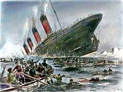 Resultado de imagen de naufragio titanic