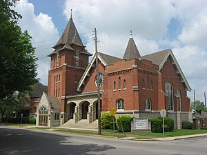 National Register of Historic Places listings in Huntington County, Indiana - Image: St. Peter's First Community Church in Huntington